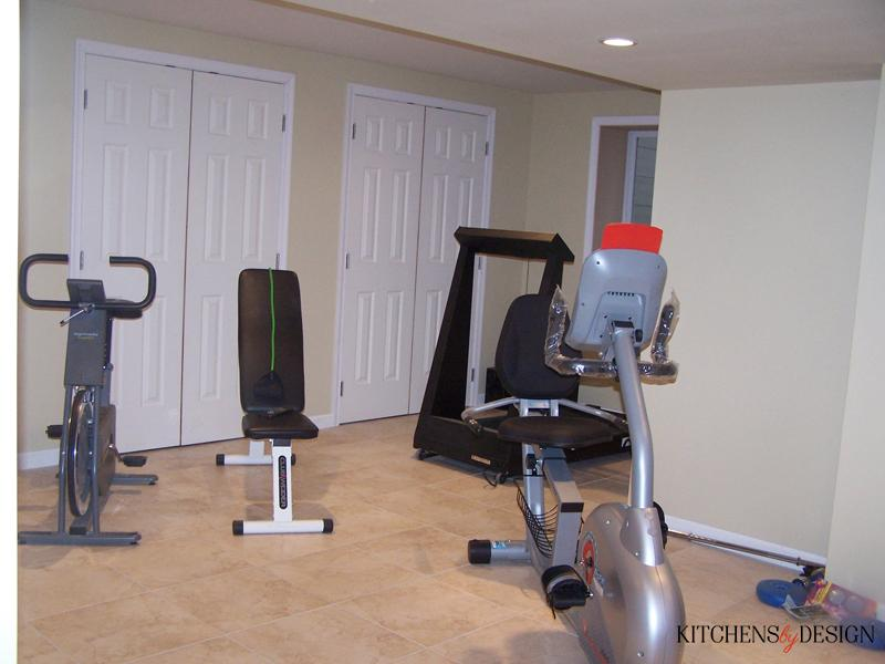 basement exercise room