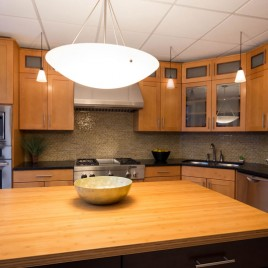 warm kitchen design contractor